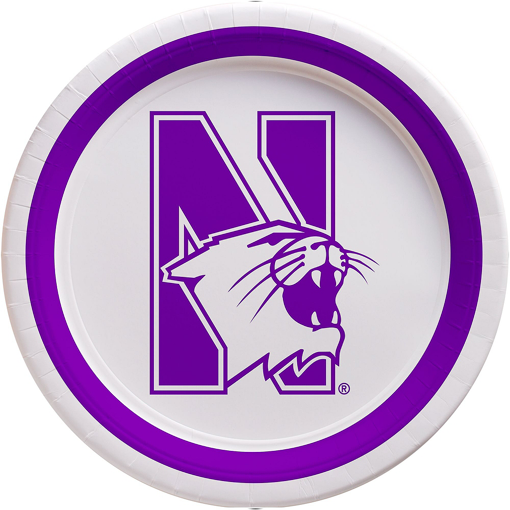 Northwestern Wildcats Party Kit for 16 Guests Image #3
