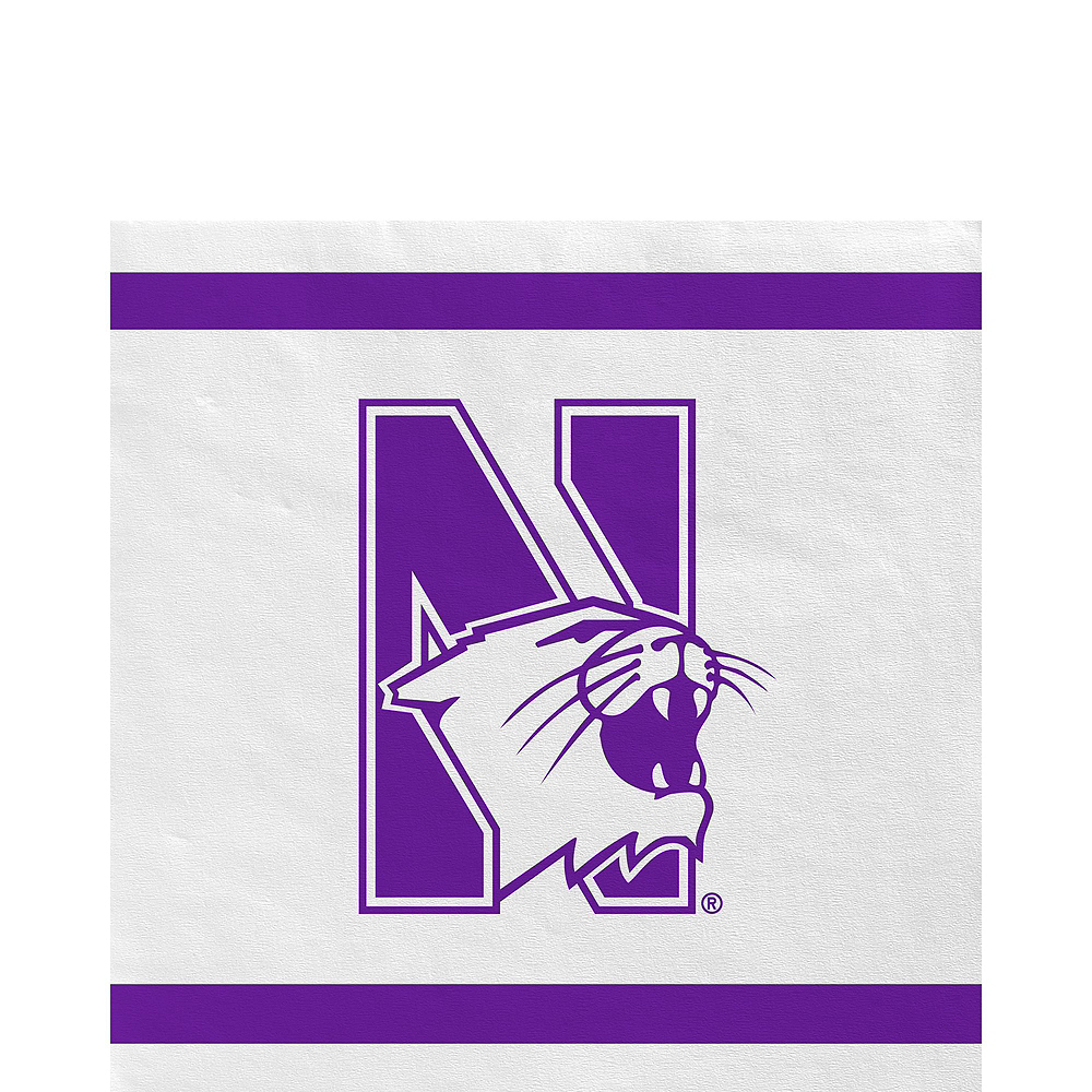 Northwestern Wildcats Party Kit for 16 Guests Image #5