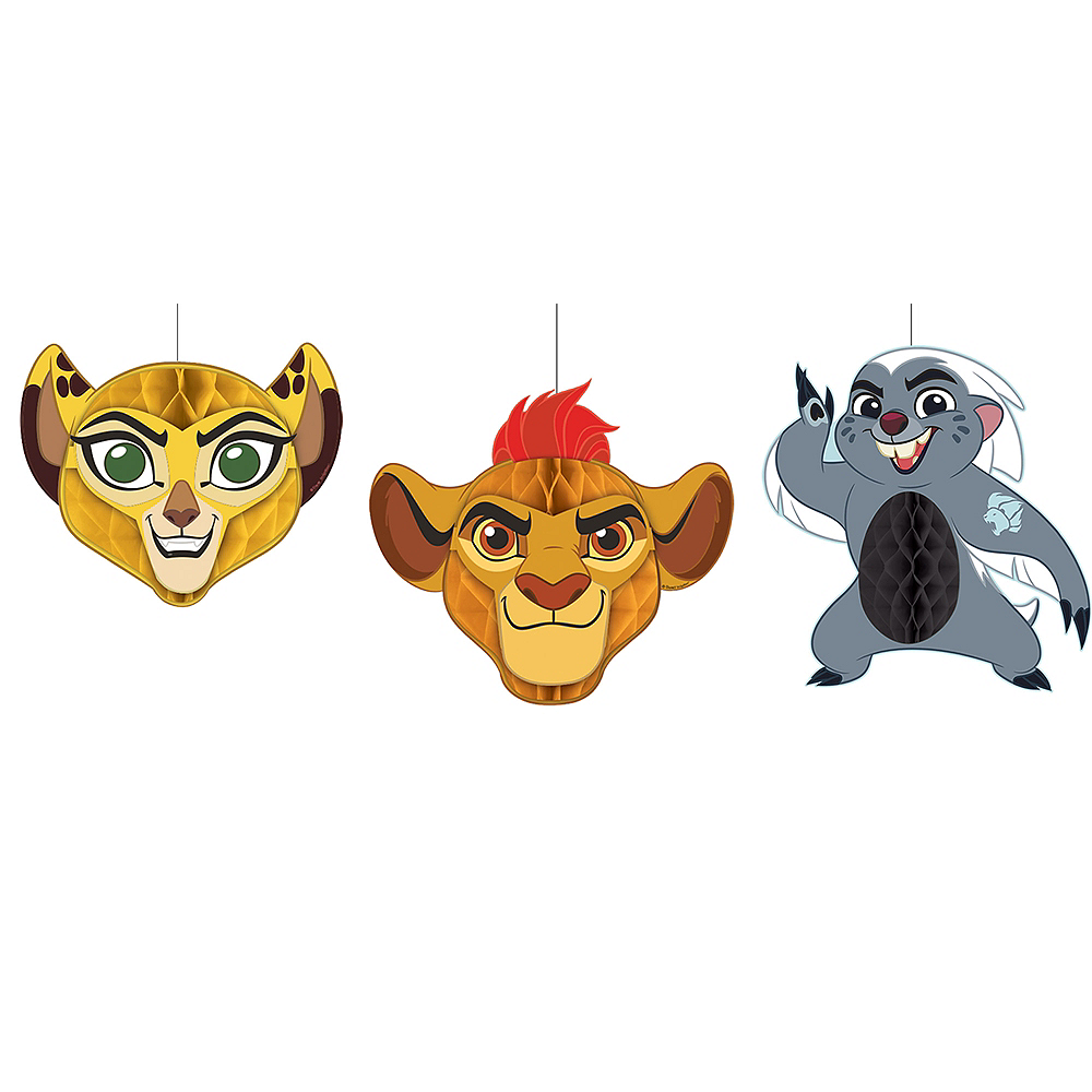 Lion Guard Honeycomb Balls 3ct Image #1