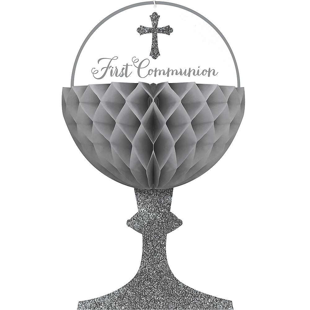 Chalice Communion Honeycomb Decorations 3ct Image #1