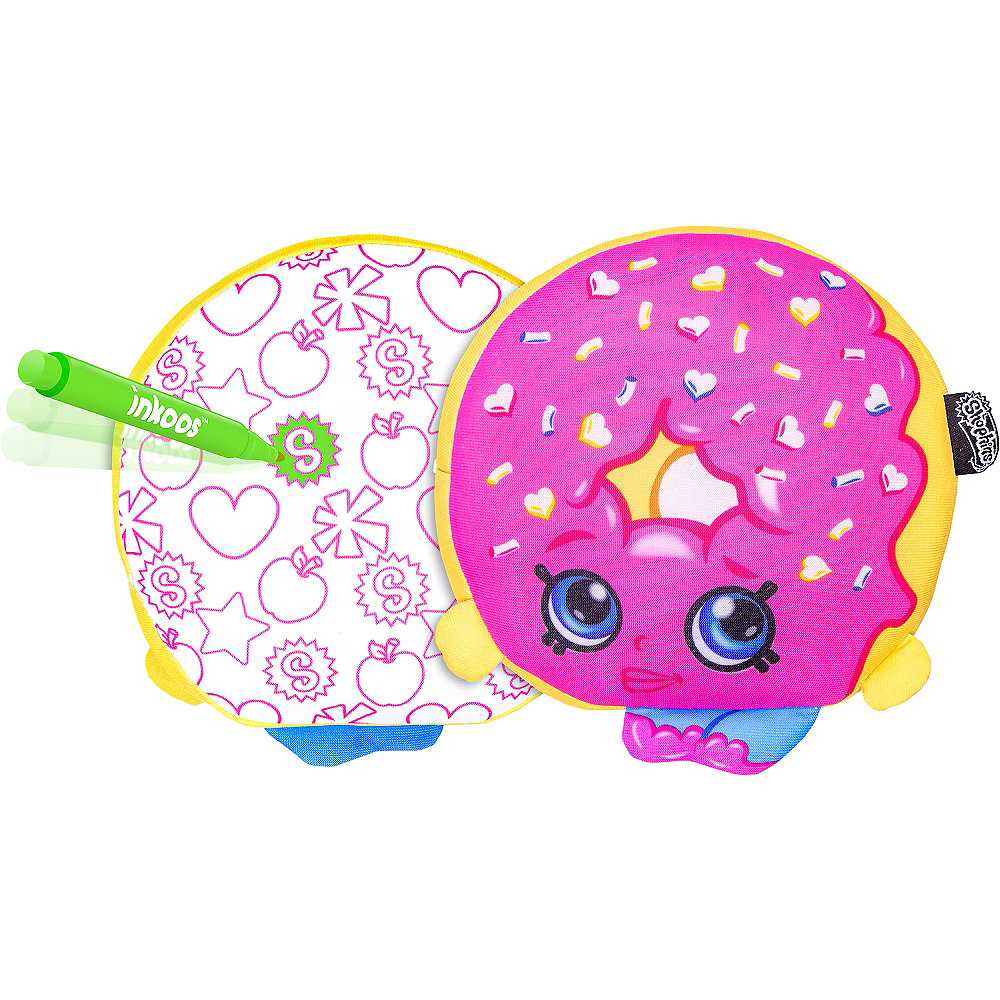 Color 'n' Create D'lish Donut Plush - Shopkins Image #1