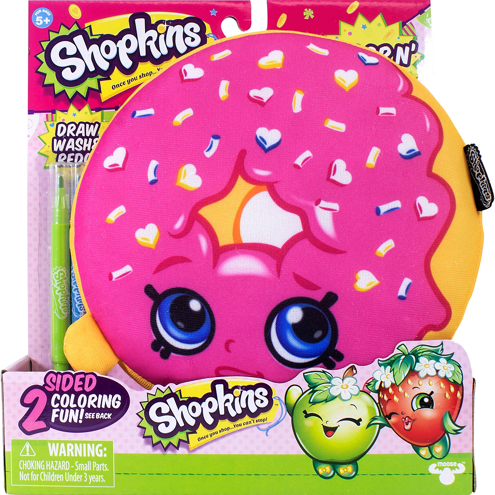 Color 'n' Create D'lish Donut Plush - Shopkins Image #2