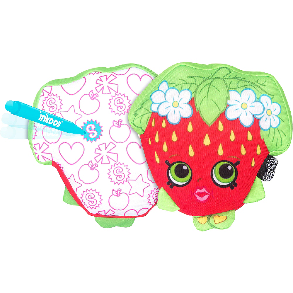 Color 'n' Create Strawberry Kiss Plush - Shopkins Image #1
