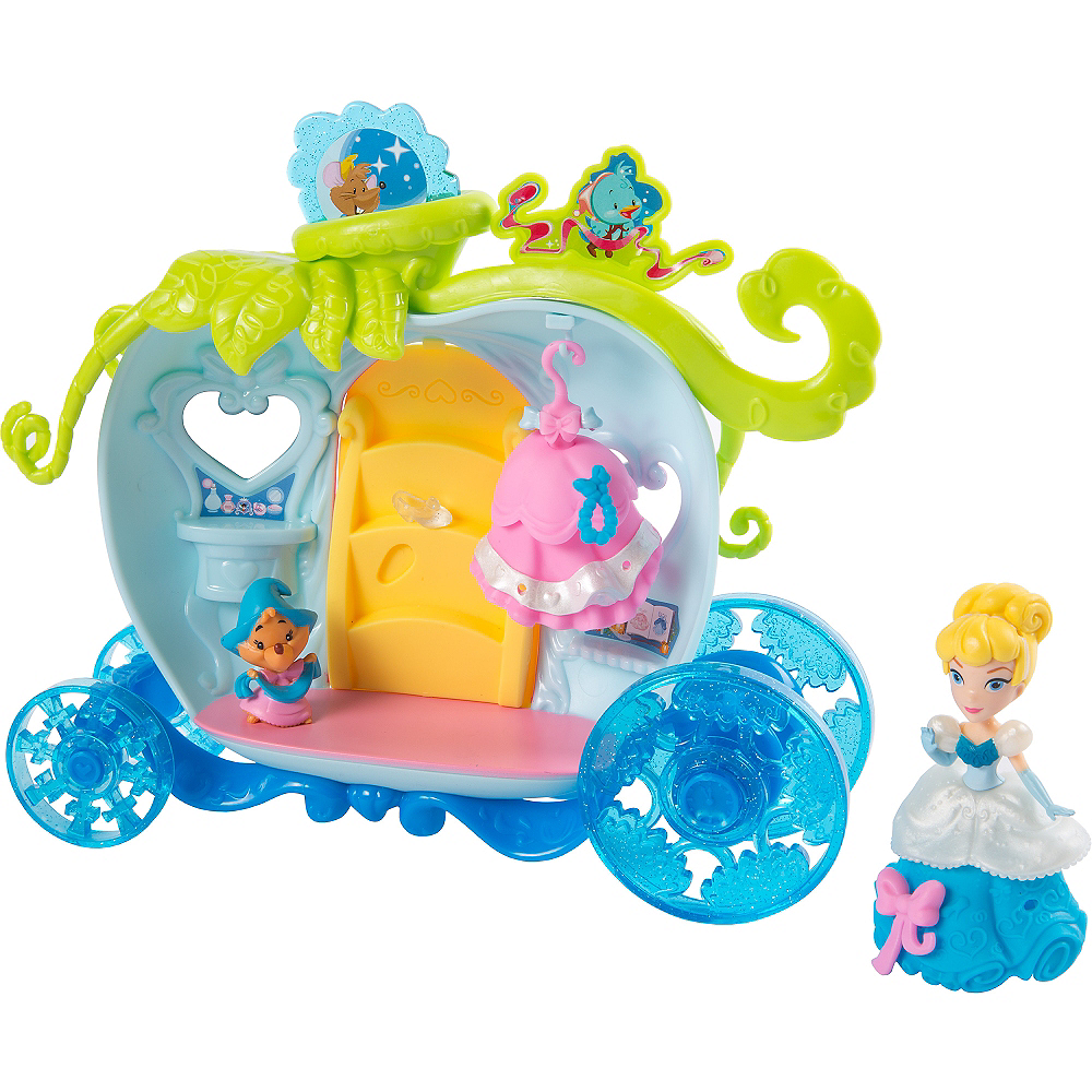 Bibbidi Bobbidi Carriage Cinderella Playset 11pc Image #1