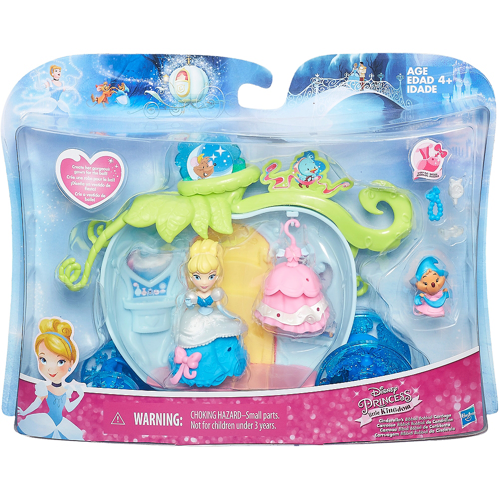 Bibbidi Bobbidi Carriage Cinderella Playset 11pc Image #3