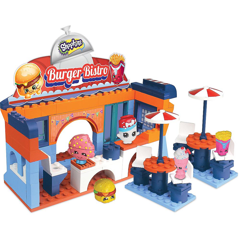 Burger Bistro Shopkins Playset 159pc Image #1