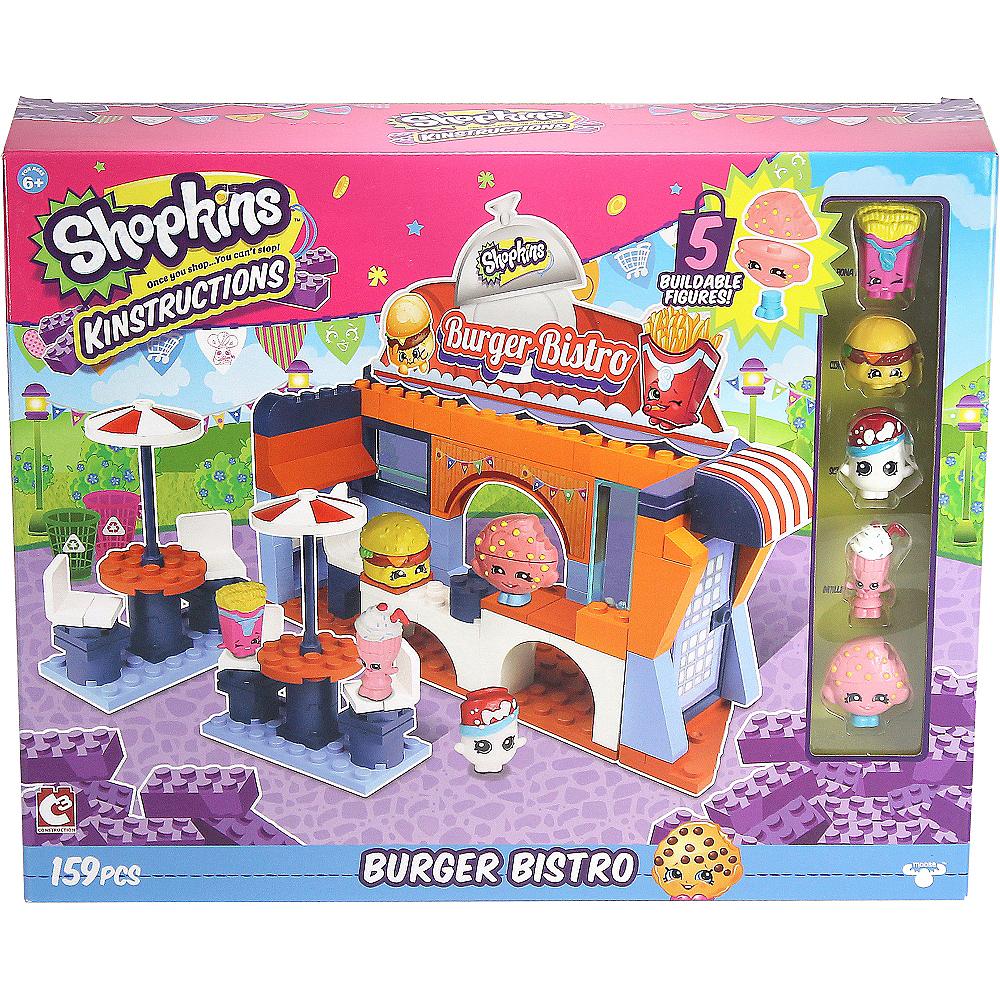 Burger Bistro Shopkins Playset 159pc Image #3