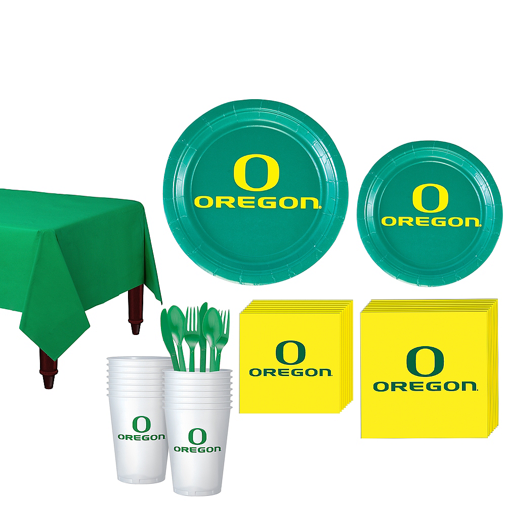 Oregon Ducks Party Kit for 16 Guests Image #1