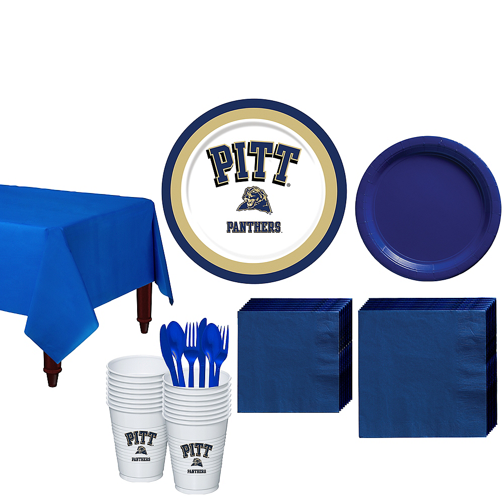 Pittsburgh Panthers Party Kit for 16 Guests Image #1