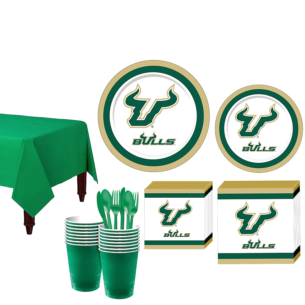 South Florida Bulls Party Kit for 16 Guests Image #1