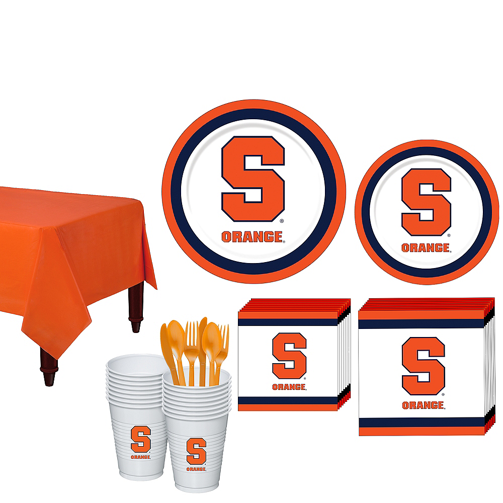 Syracuse Orange Party Kit for 16 Guests Image #1