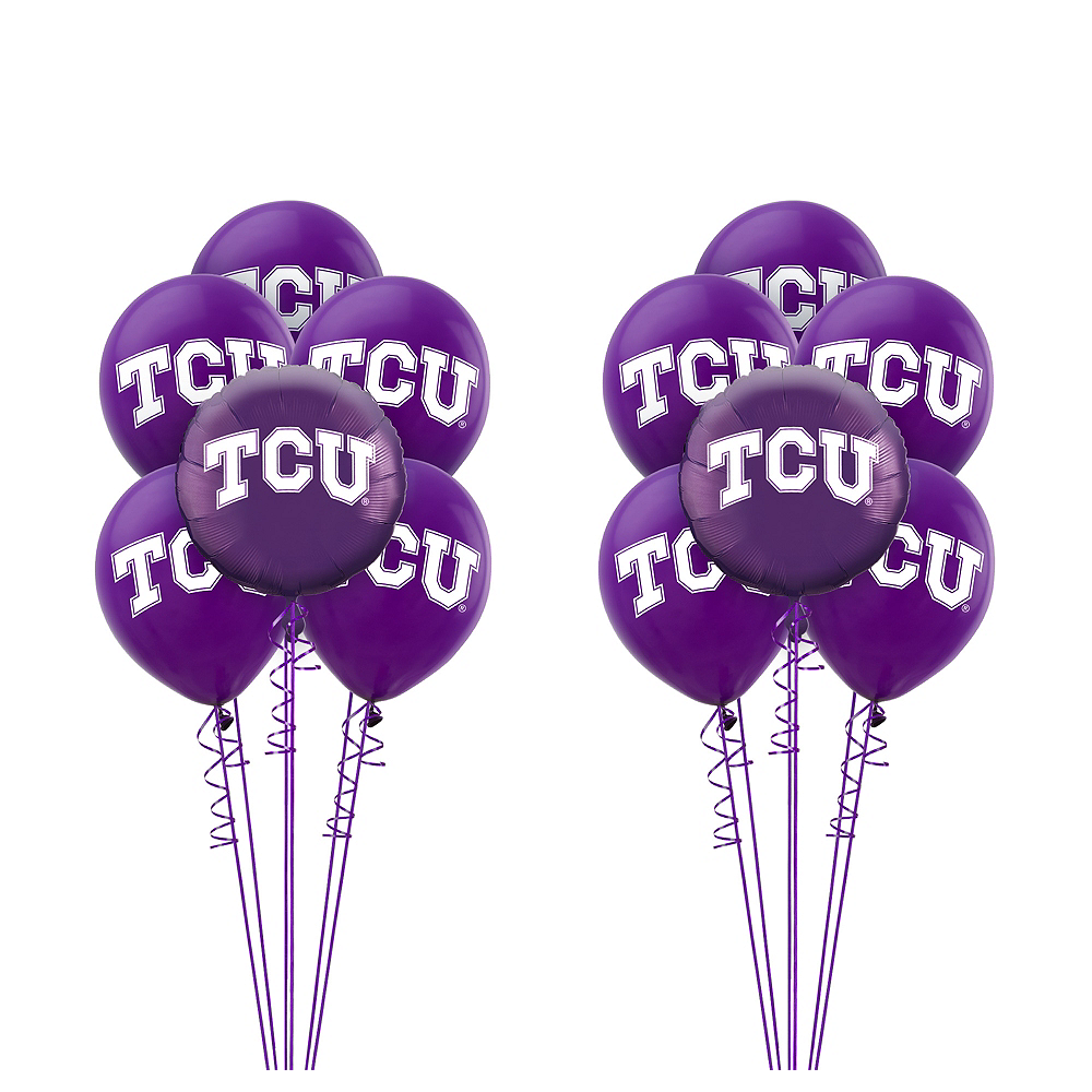 TCU Horned Frogs Balloon Kit Image #1