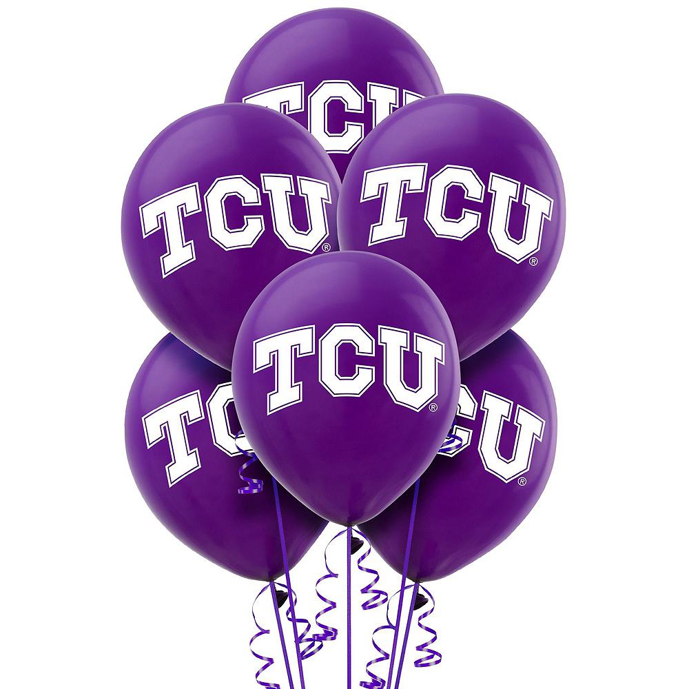 TCU Horned Frogs Balloon Kit Image #2