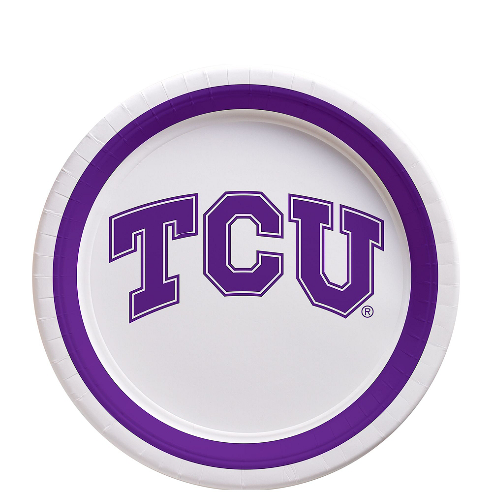 TCU Horned Frogs Party Kit for 16 Guests Image #2