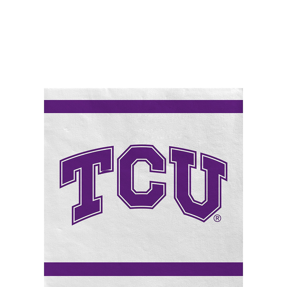 TCU Horned Frogs Party Kit for 16 Guests Image #4