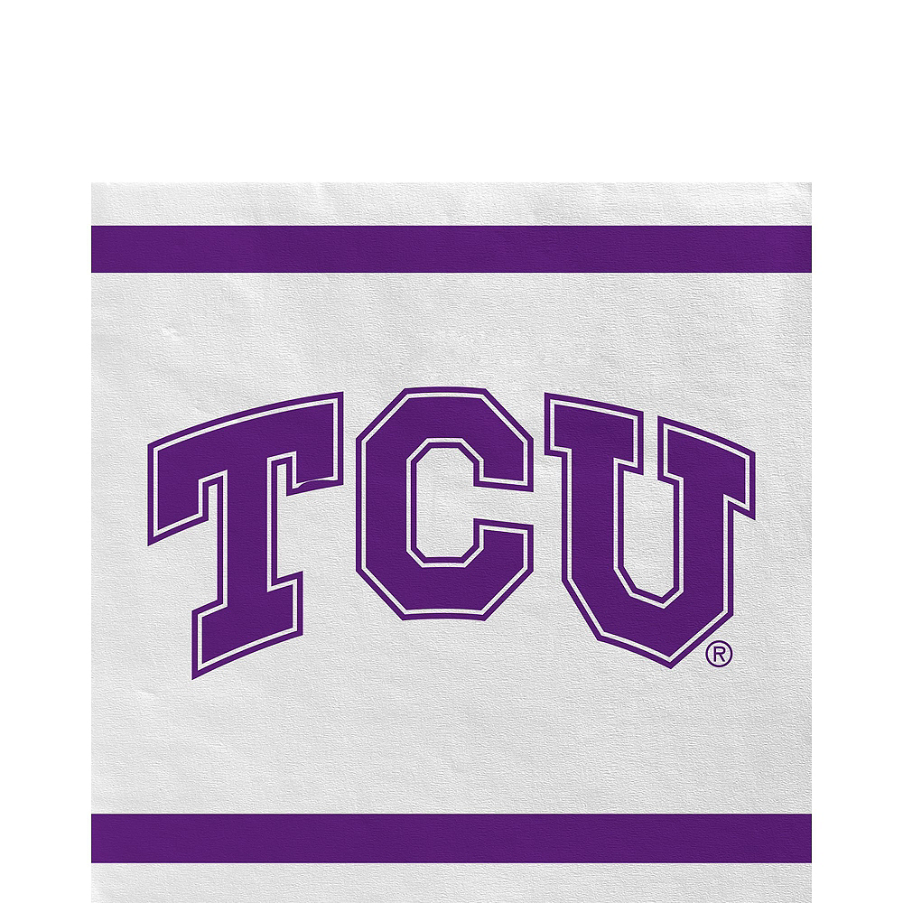 TCU Horned Frogs Party Kit for 16 Guests Image #5