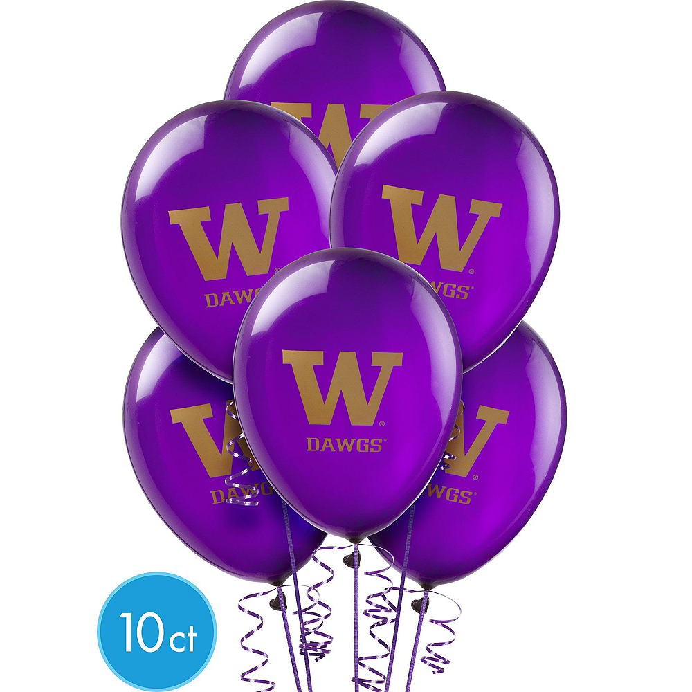 Nav Item for Washington Huskies Balloon Kit Image #3