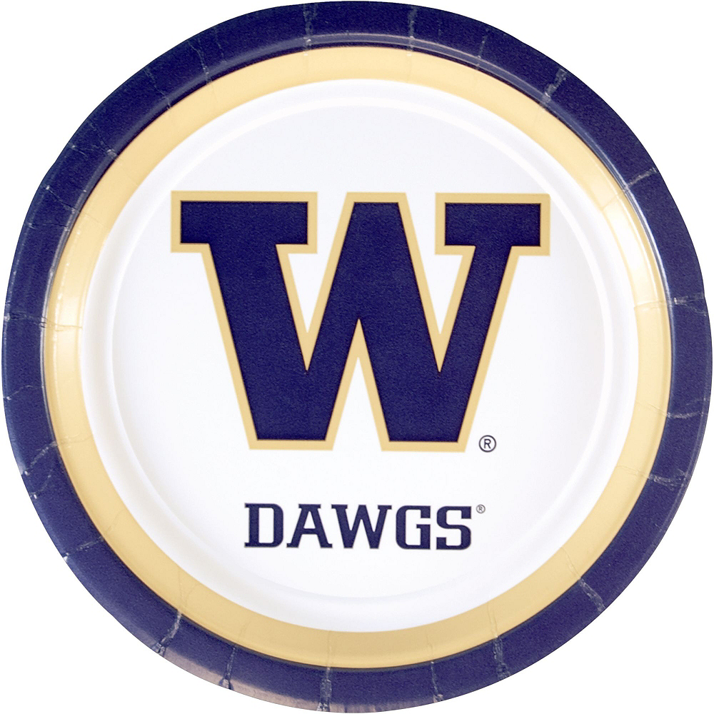 Washington Huskies Party Kit for 16 Guests Image #3