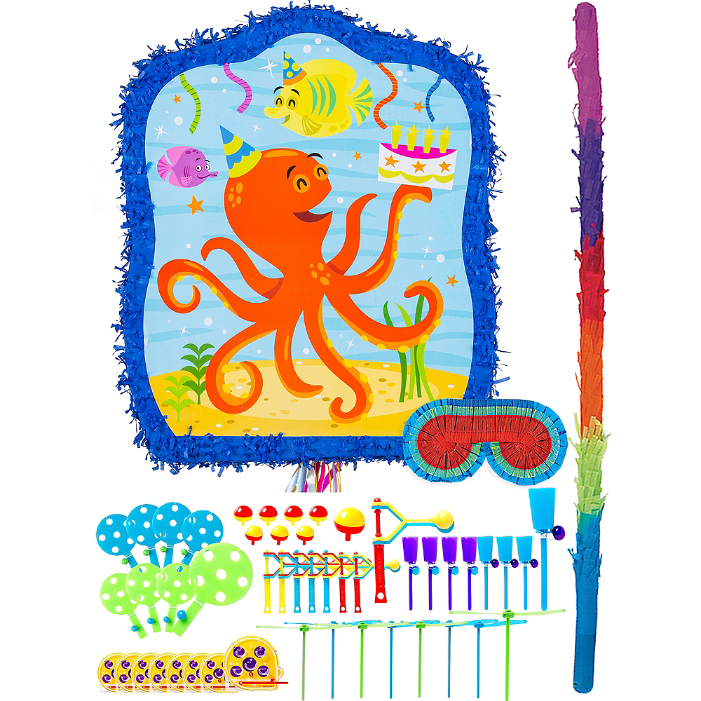 Under the Sea Pinata Kit with Favors Image #1