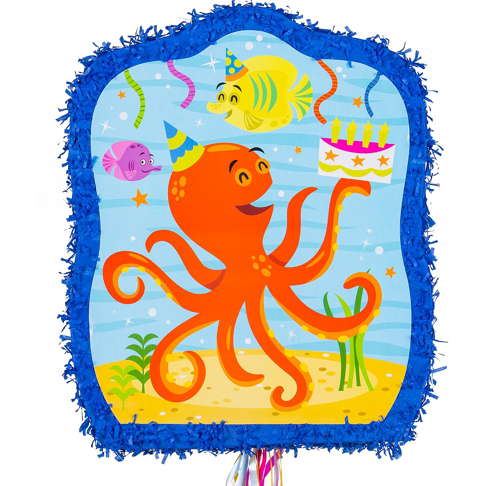 Under the Sea Pinata Kit with Favors Image #5