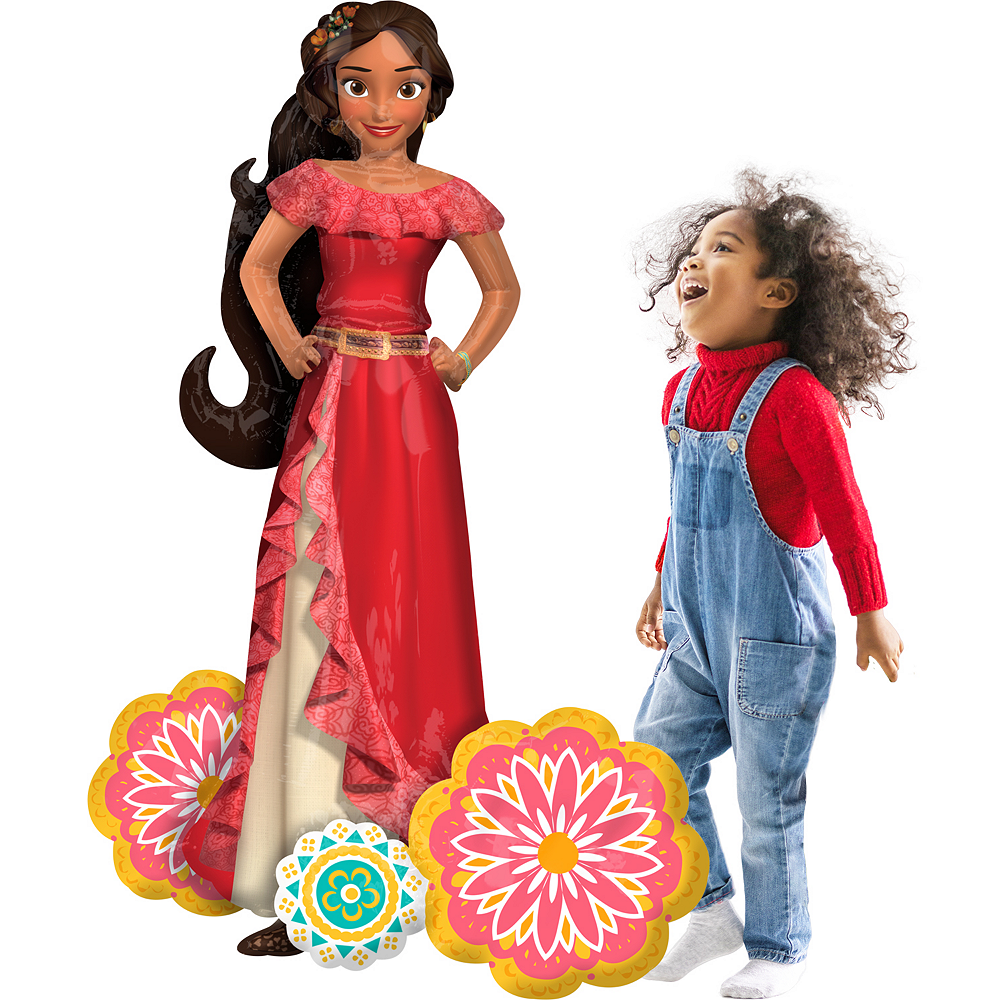Elena of Avalor Balloon - Giant Gliding, 54in Image #1