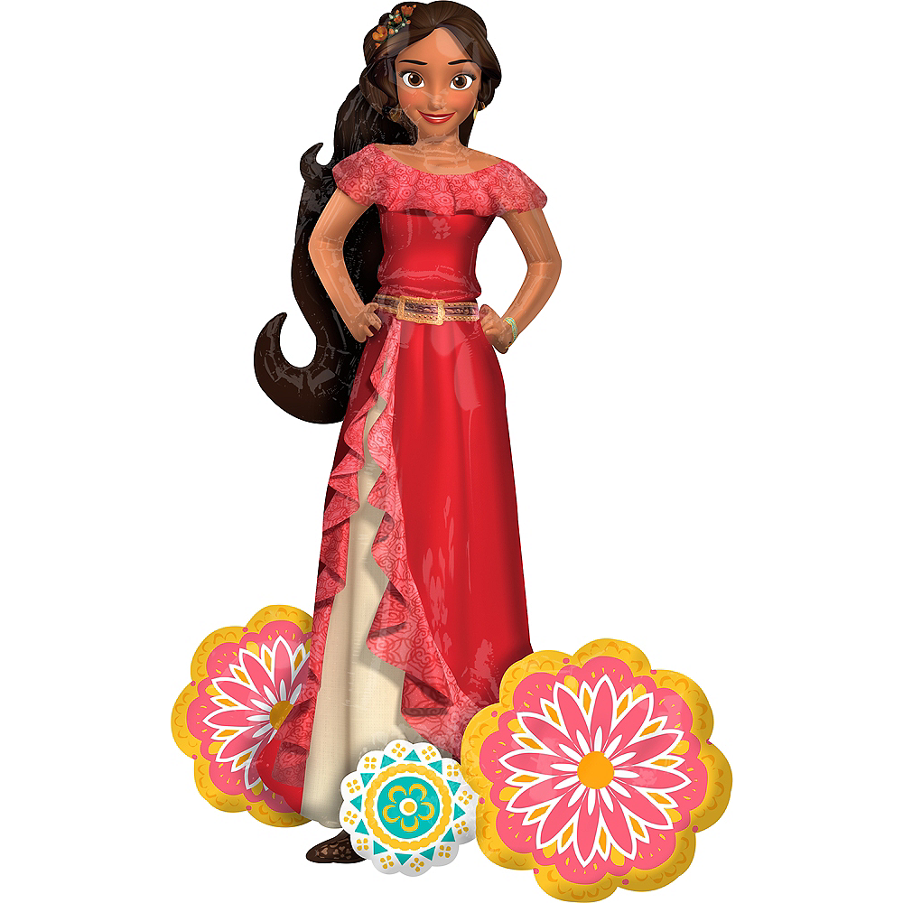 Elena of Avalor Balloon - Giant Gliding, 54in Image #2