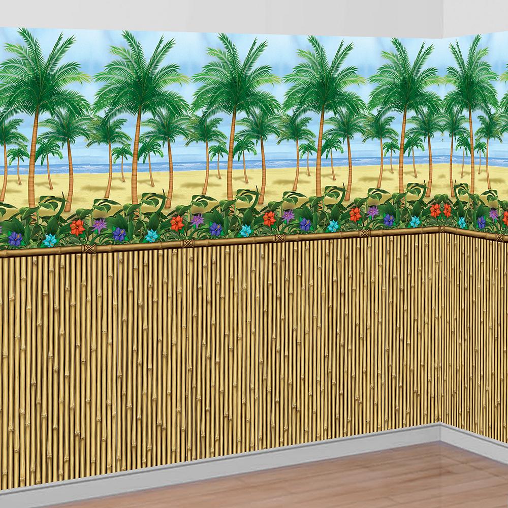 Bamboo Beach Scene Setter Kit Image #1