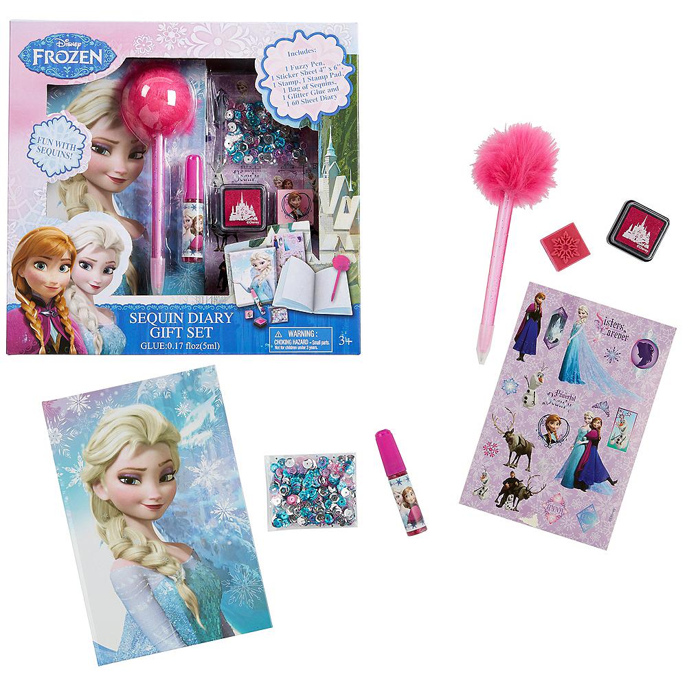 Frozen Diary Set 7pc Image #1