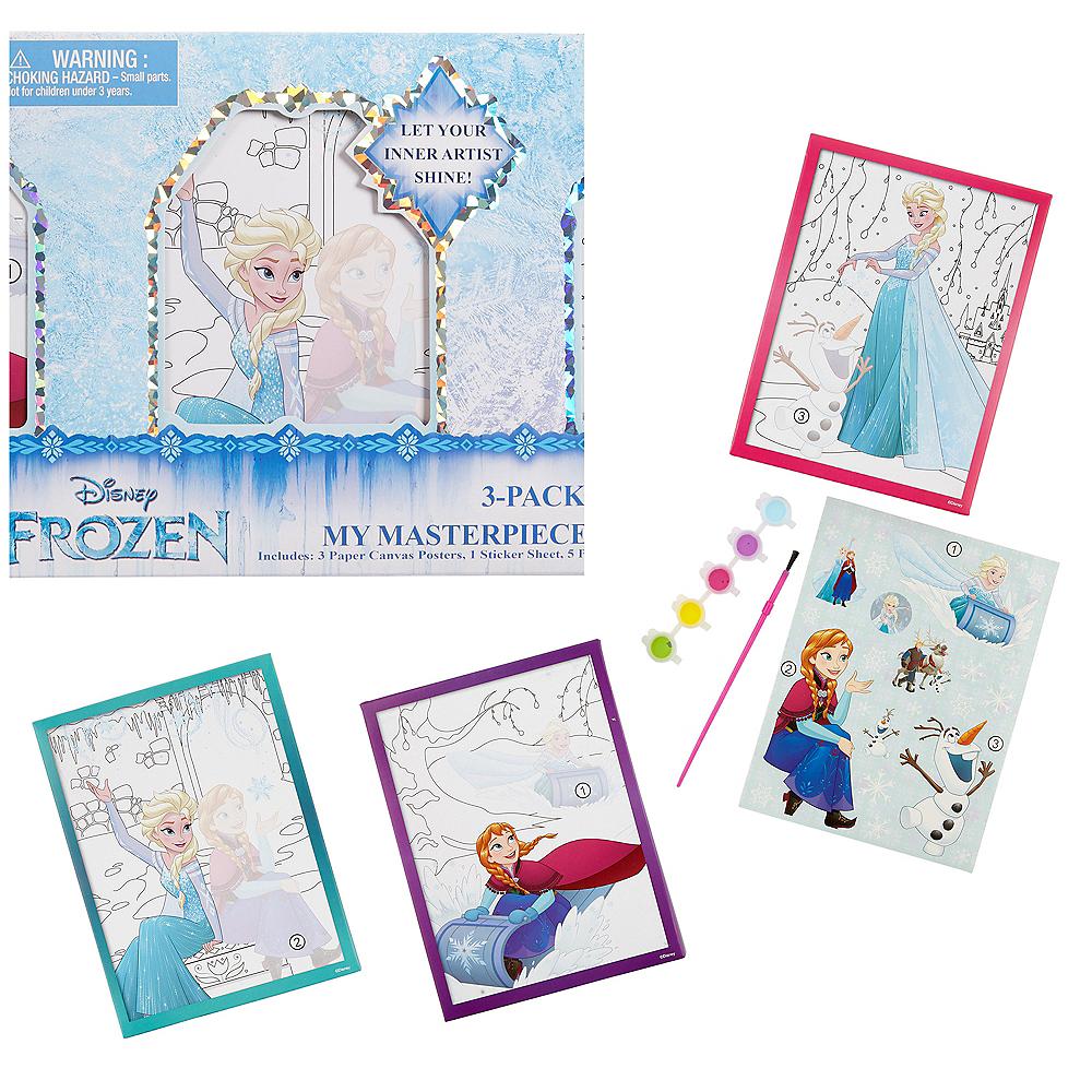 Frozen Paint Set 10pc Image #1