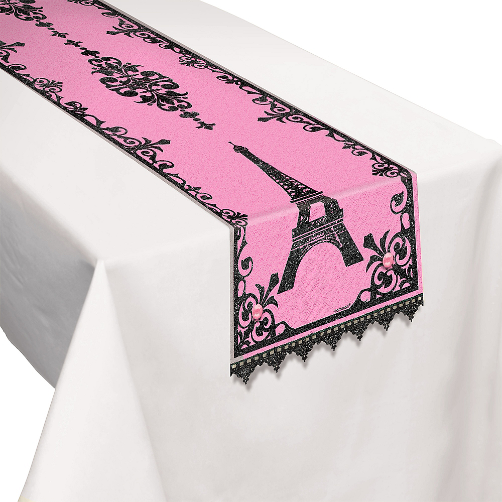 A Day in Paris Table Runner Image #1