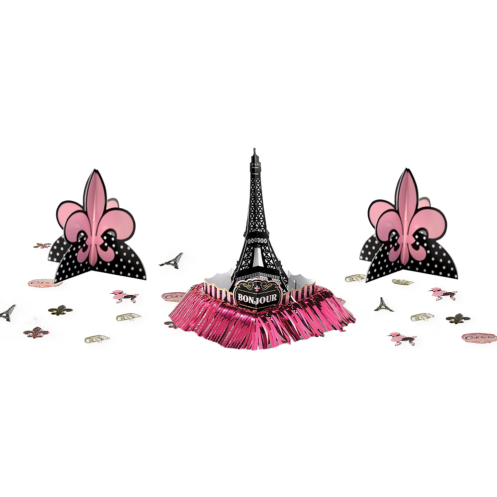 A Day in Paris Table Decorating Kit 23pc Image #1