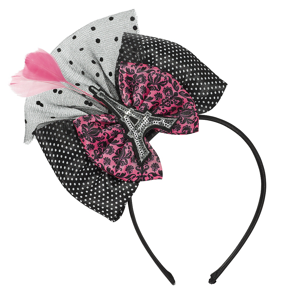 A Day in Paris Bow Headband Image #1