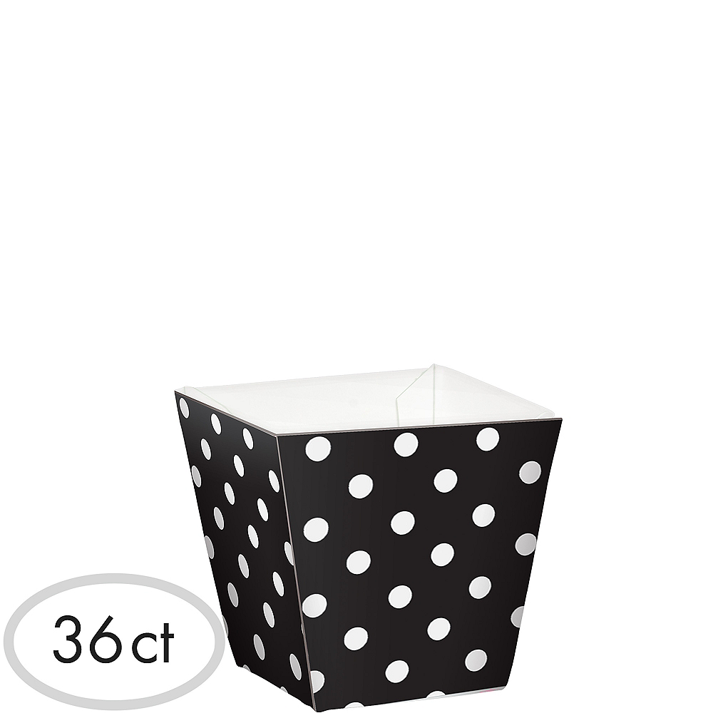 Mini Polka Dot Cubed Bowls 36ct Image #1