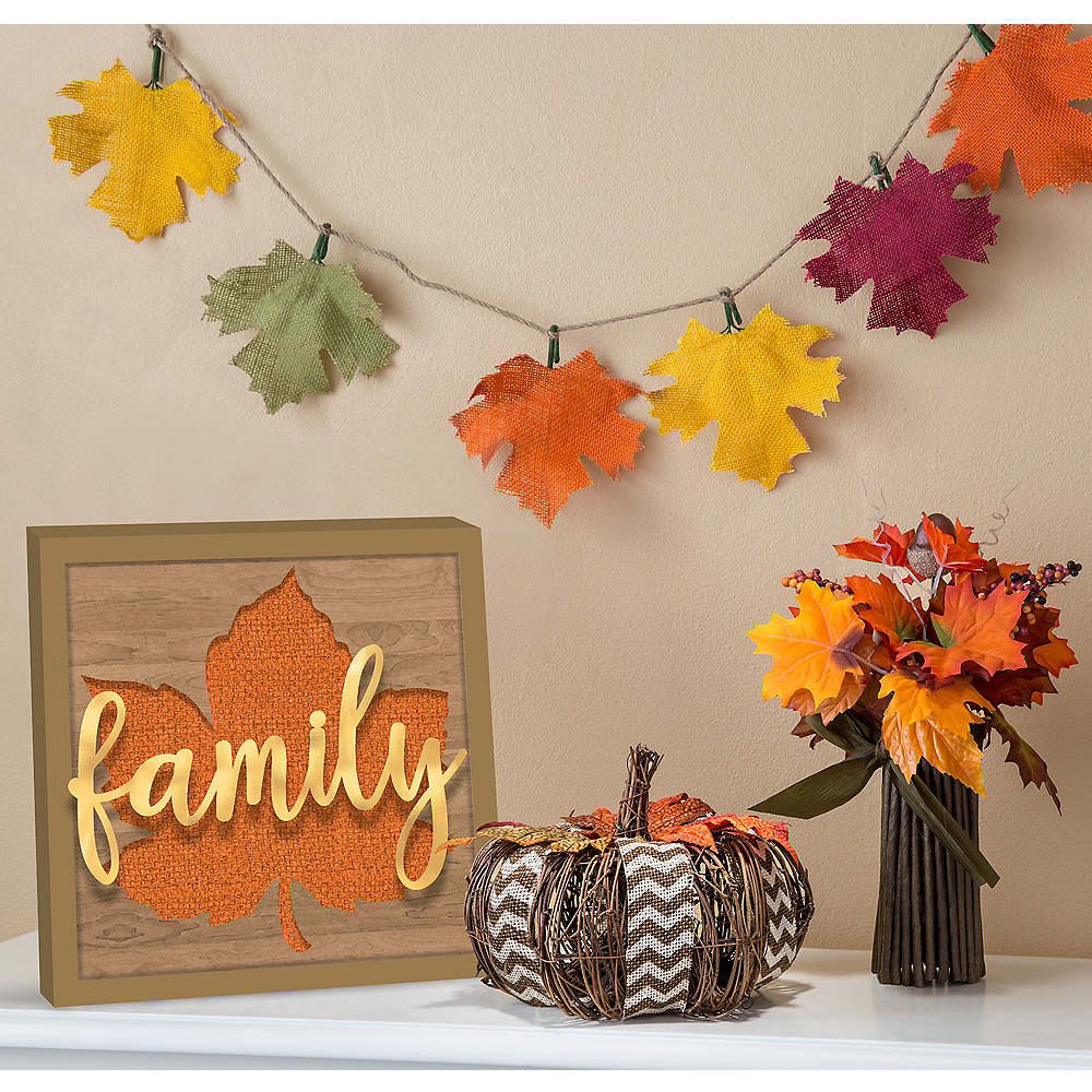 Rustic fall decorating kit thanksgiving decorations