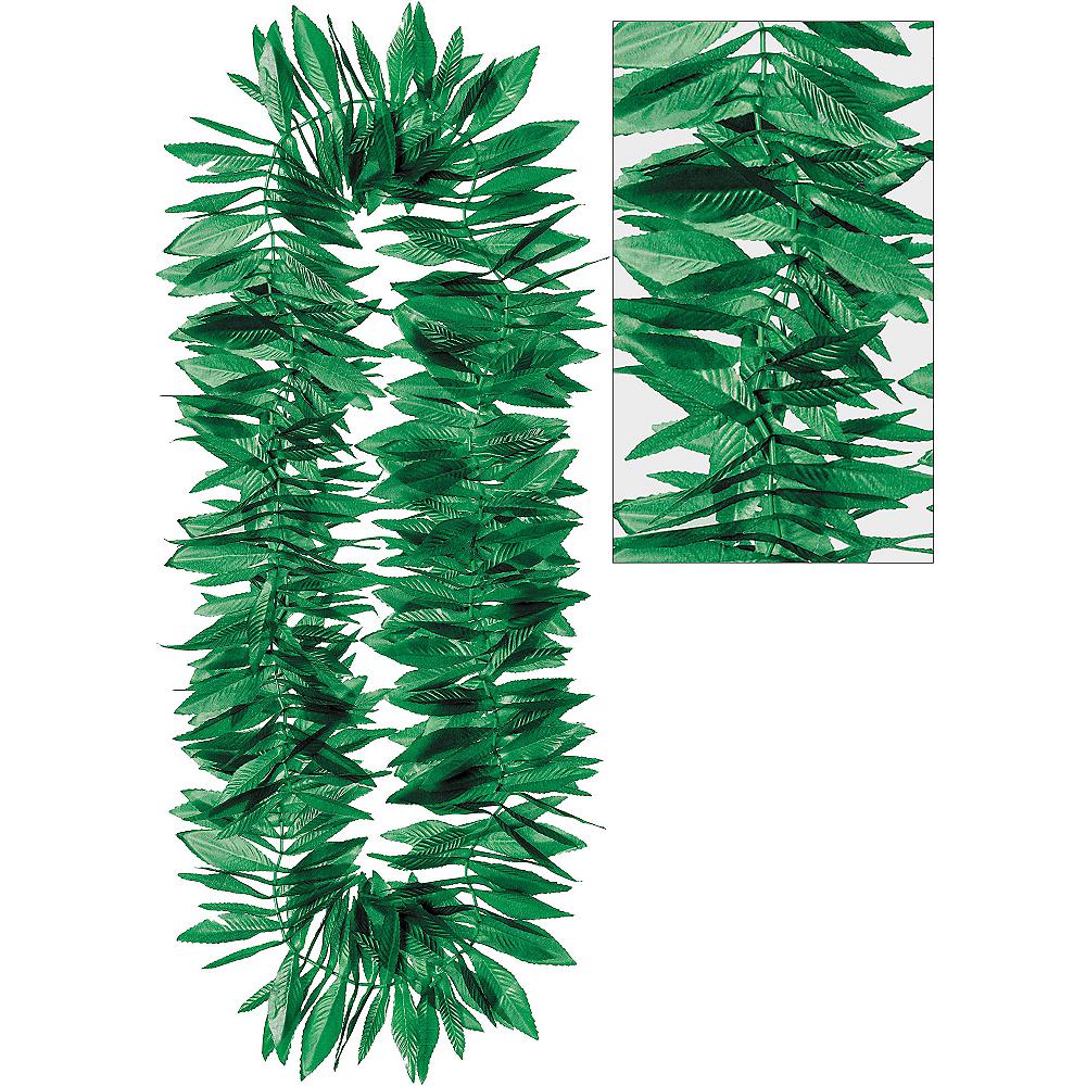 Green Leaf Maile Lei Image #1