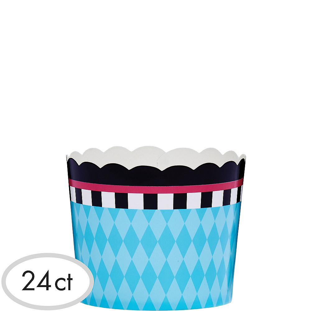 Blue Diamond Scalloped Bowls 24ct Image #1