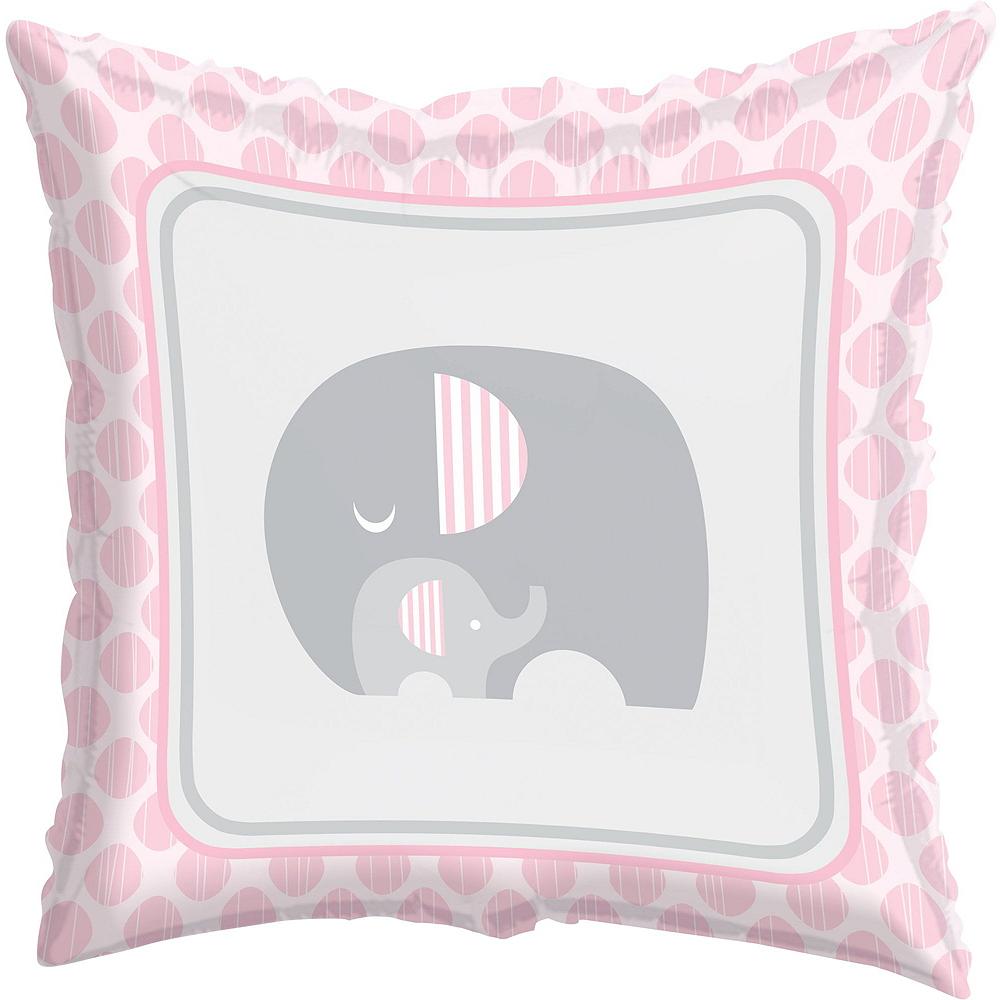 Pink Baby Elephant Balloon Kit 18ct Image #2