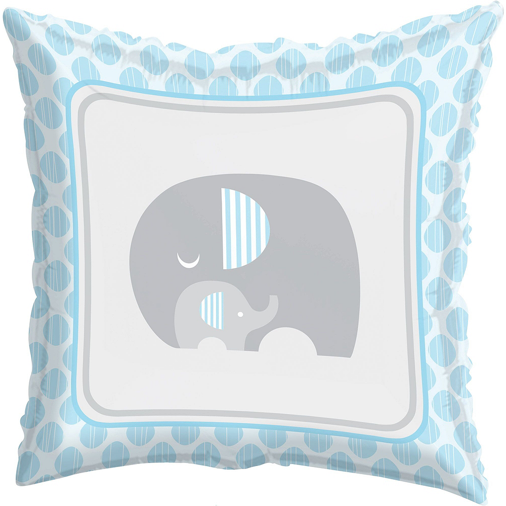 Blue Baby Elephant Premium Baby Shower Kit for 32 Guests Image #14
