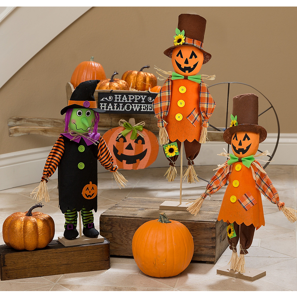 Friendly Standing Halloween Decorating Kit Kid Friendly