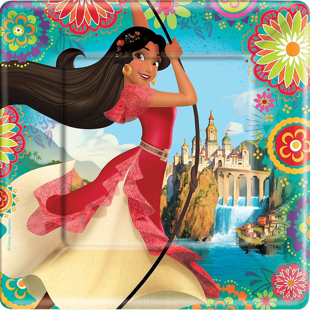 Elena of Avalor Lunch Plates 8ct Image #1