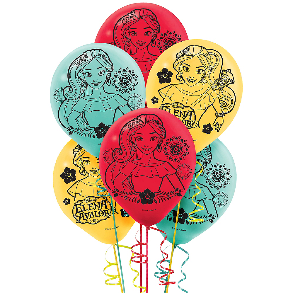 Elena of Avalor Balloons 6ct Image #1