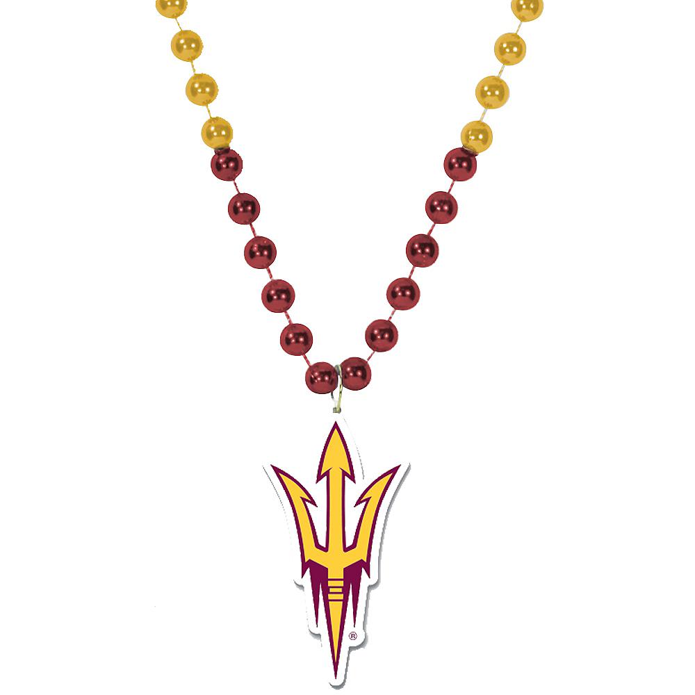 Arizona State Sun Devils Pendant Bead Necklace Image #1