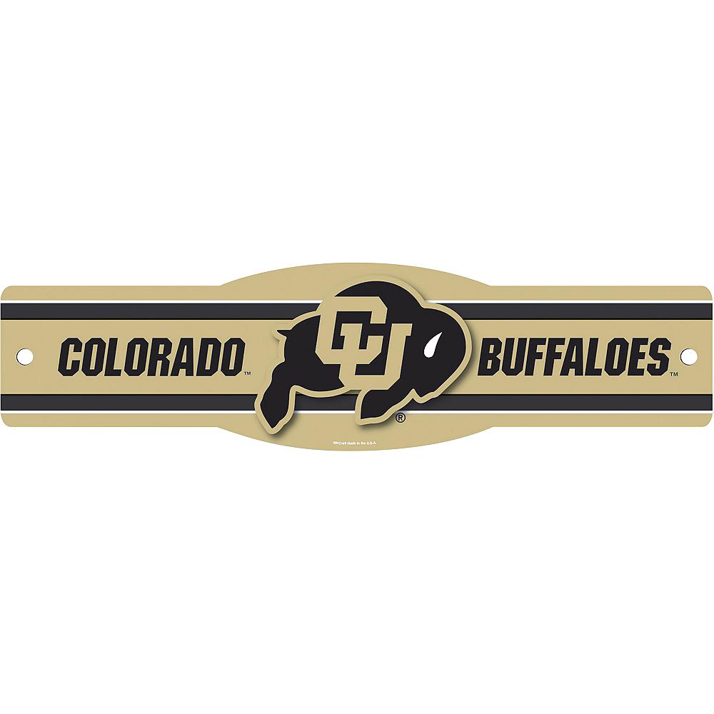 Colorado Buffaloes Street Sign Image #1