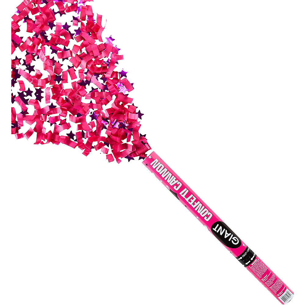 Giant Pink Graduation Confetti Cannon Image #1