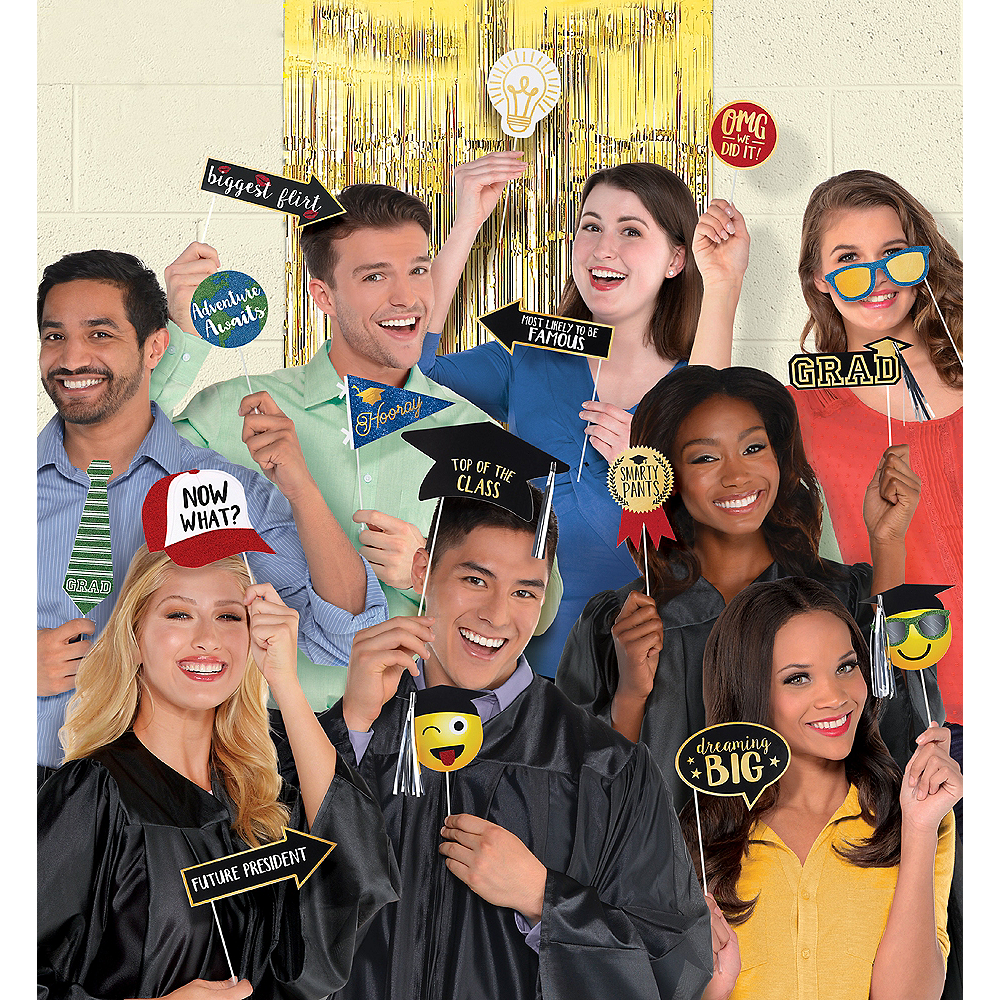 Graduation Photo Booth Kit 21pc Image #1