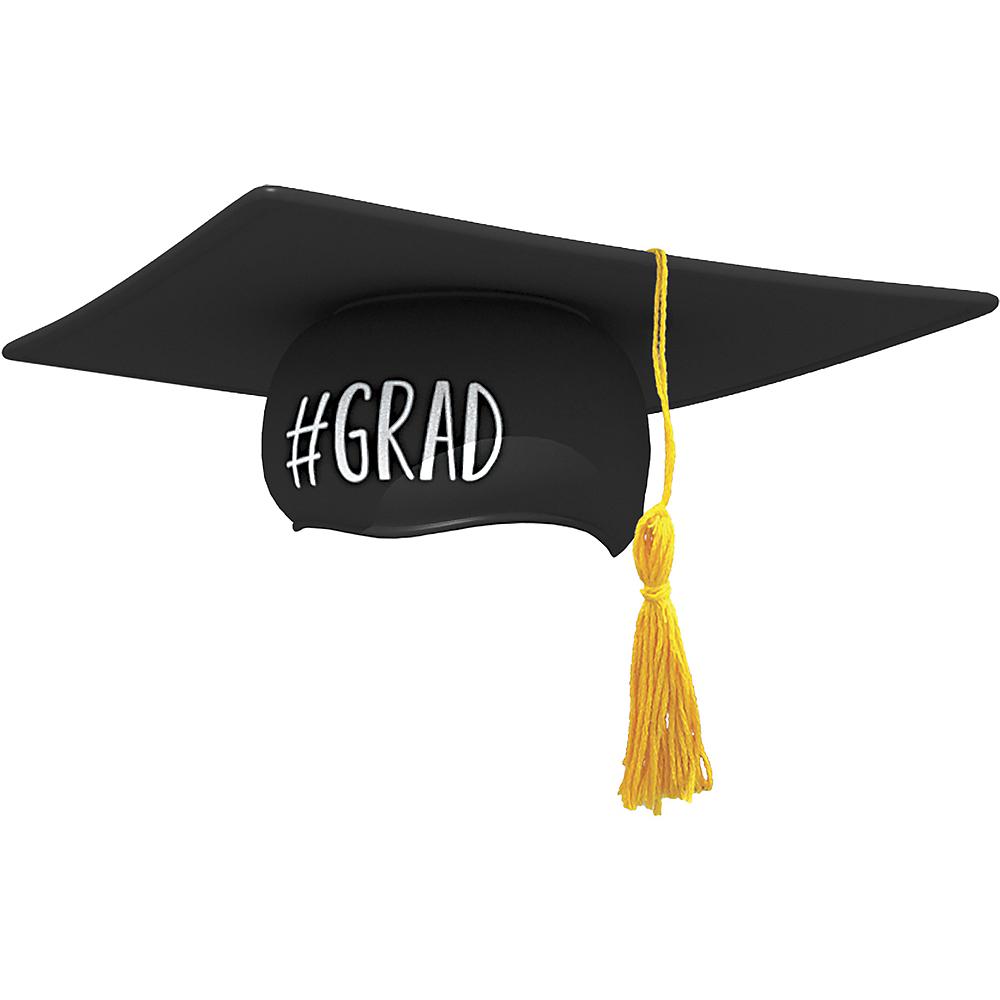 black graduation cap 15 1 2in x 15 1 2in party city
