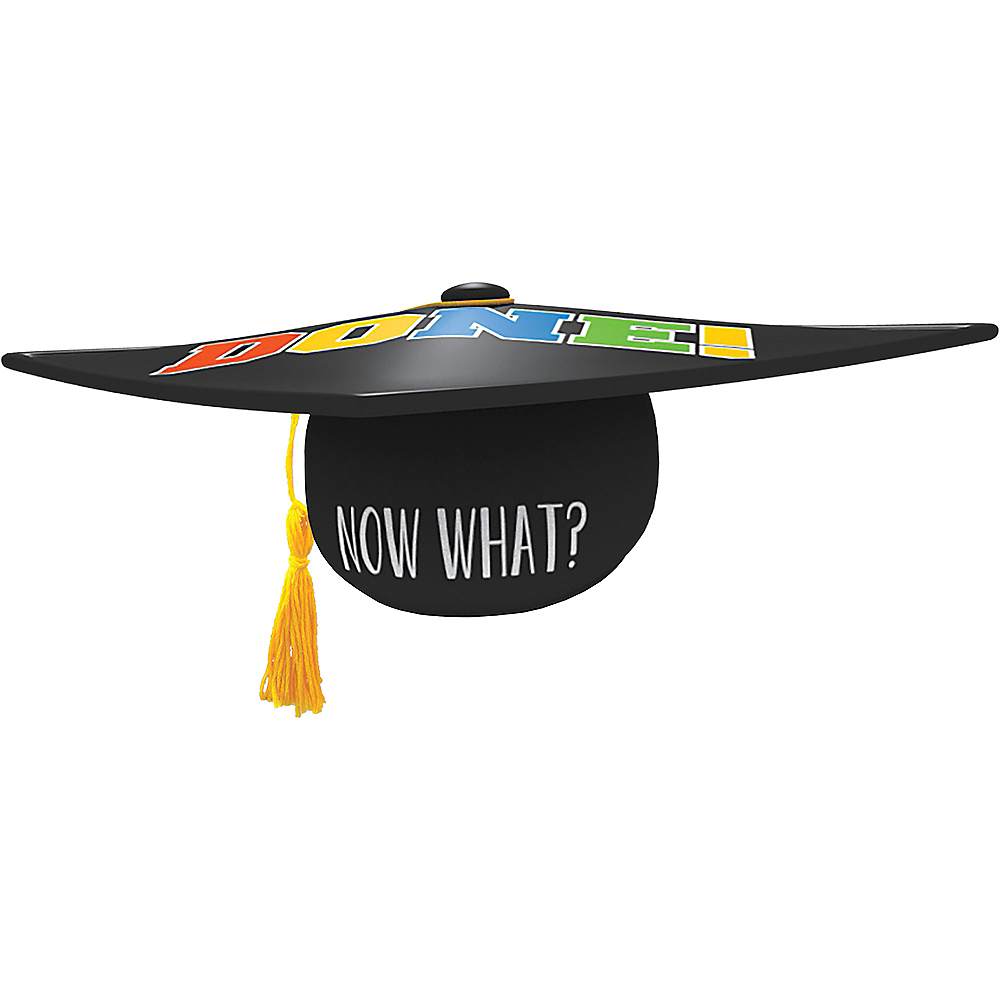 Black Graduation Cap Image #2