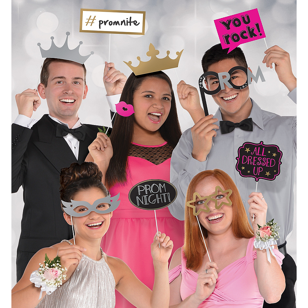 Prom Photo Booth Props 13pc Image #1