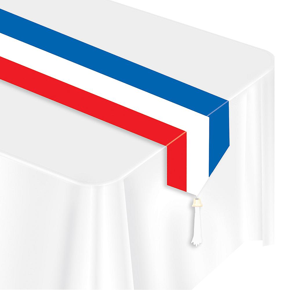 Red, White & Blue Table Runner Image #1