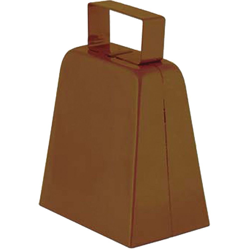 Brown Cowbell 3in X 4in Party City